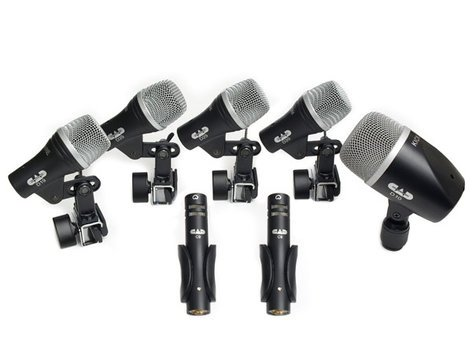 CAD Audio STAGE 7 Mic, Drum Pack, 7 Piece  STAGE7