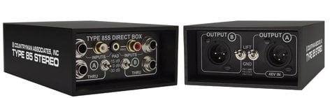 Countryman DT85S Type 85S 2-Channel FET Direct Box DT85S