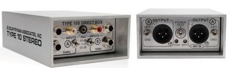 Countryman DT10S Type 10 S 2-Channel FET Direct Box DT10S