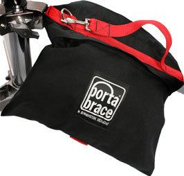 Porta-Brace SAN3B 25 lb. Black Sand Bag SAN3B