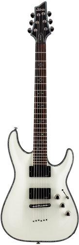 Schecter Guitars Hellraiser C-1 Electric String-Thru Guitar with EMG Active Pickups HELLRAISER-C1