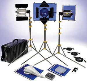 Lowel Light Mfg DPT-90Z Mini DP & T Lighting Kit DPT-90Z