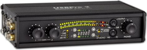 Sound Devices USBPre 2 USB Hardware Interface for Mac and PC USB-PRE2
