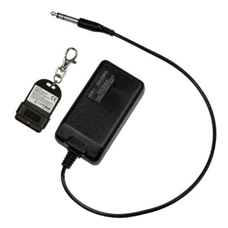 Antari Lighting & Effects HCR-1 Wireless Remote for HZ-100 HCR-1