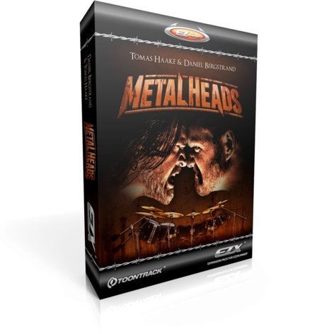 Toontrack Metalheads EZX [BOXED EDITION] Metal Expansion for EZdrummer/Superior Drummer METALHEADS