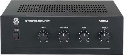 Pyle Pro PCM30A 60W Power Amplifier with 25 & 70 V Output PCM30A