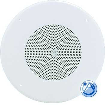 """Atlas Sound HD72W 25W Speaker & Baffle - 8"""" Dual Cone, 25/70.7V HD72W"""