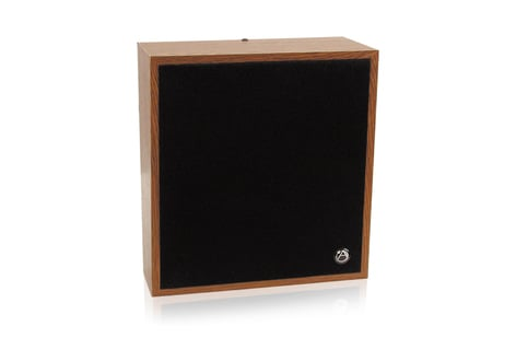 Atlas Sound WD417-72 Loudspeaker & Baffle Packagein Walnut Grain with 5oz Magnet WD417-72
