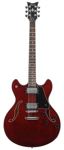 Schecter Guitars CORSAIR Guitar, Electric Corsair Hollow Body CORSAIR