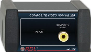 Radio Design Labs EZ-HK2  RCA Composite Video Hum Eliminator EZ-HK2