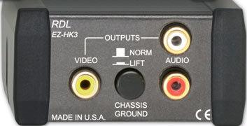 RDL EZ-HK3  Audio/Video Hum Eliminator EZ-HK3