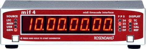 Rosendahl MIF4  MIF4 MIDI Time Code Interface MIF4