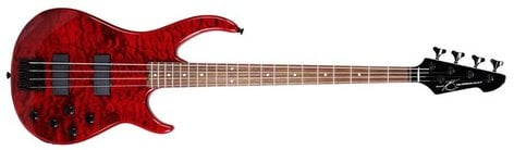 Peavey MILL4-ACBXP-TRANS Millennium 4 AC BXP 4-String Electric Bass Guitar with Active Preamp in Transparent Finishes MILL4-ACBXP-TRANS