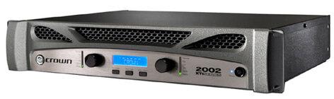 Crown XTI2002 XTi 2002 475W @ 8 Ohms Power Amplifier XTI2002