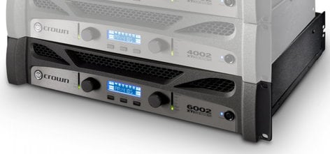 Crown XTi 6002 Stereo Power Amplifier rated at 2100 Watts @ 4 Ohms Per Channel XTI6002