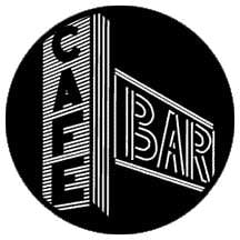 Cafe & Bar Neon Sign Steel Gobo