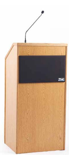 Seville Lectern Sound System with Dual Wireless Receivers