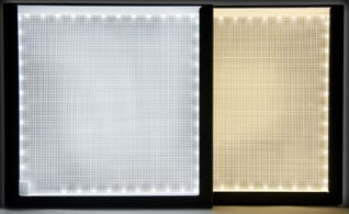 24x24 LitePad Axiom Daylight Temp. LED Light Source