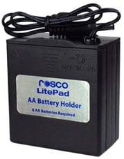 LitePad AA Battery Holder/Pack