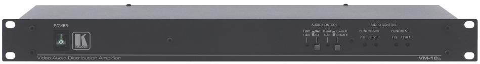 1 x 10 Video Audio Distribution Amplifier