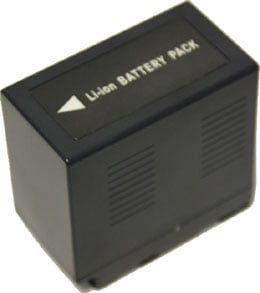 Panasonic D Series-Compatible Battery