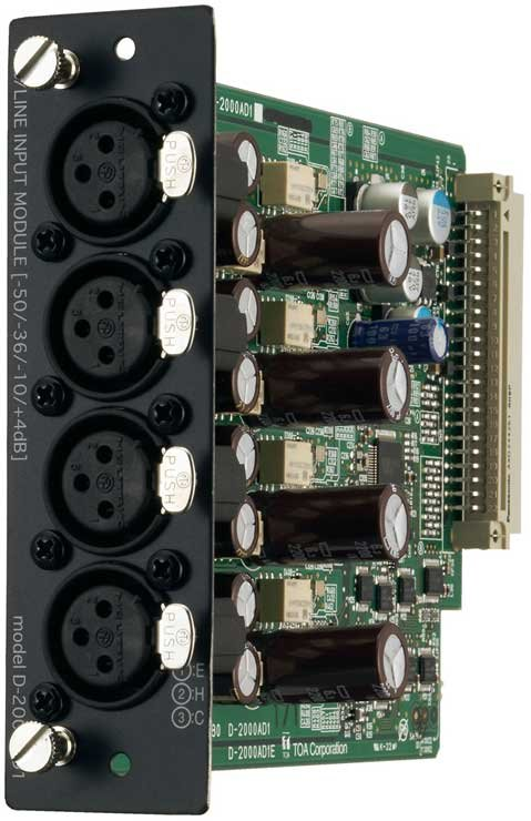Input Module, 4 Channel Analog