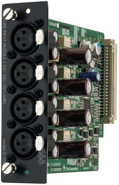 Input Module, 4 Channel Analog
