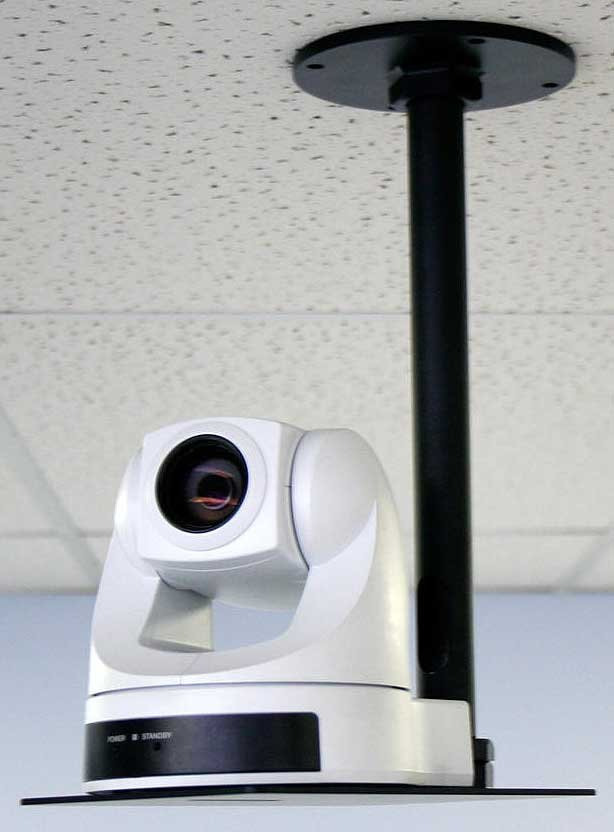Drop-Down Ceiling Mount, for Small Cameras