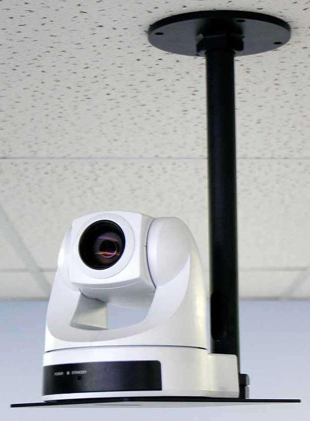 "Peerless CMR410 Security Camera Mount 7/"" Gray  NEW"