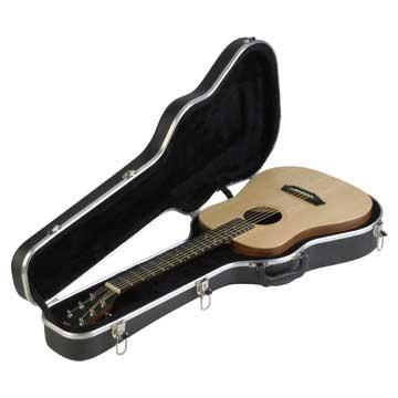 SKB Cases 1SKB-300 Hardshell Acoustic Guitar Case for BabyTaylor/Martin LX Guitars 1SKB-300