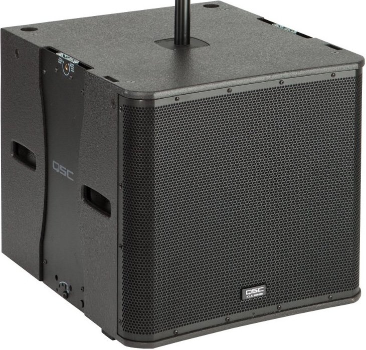 "18"" 1000W Active Line Array Subwoofer in White"