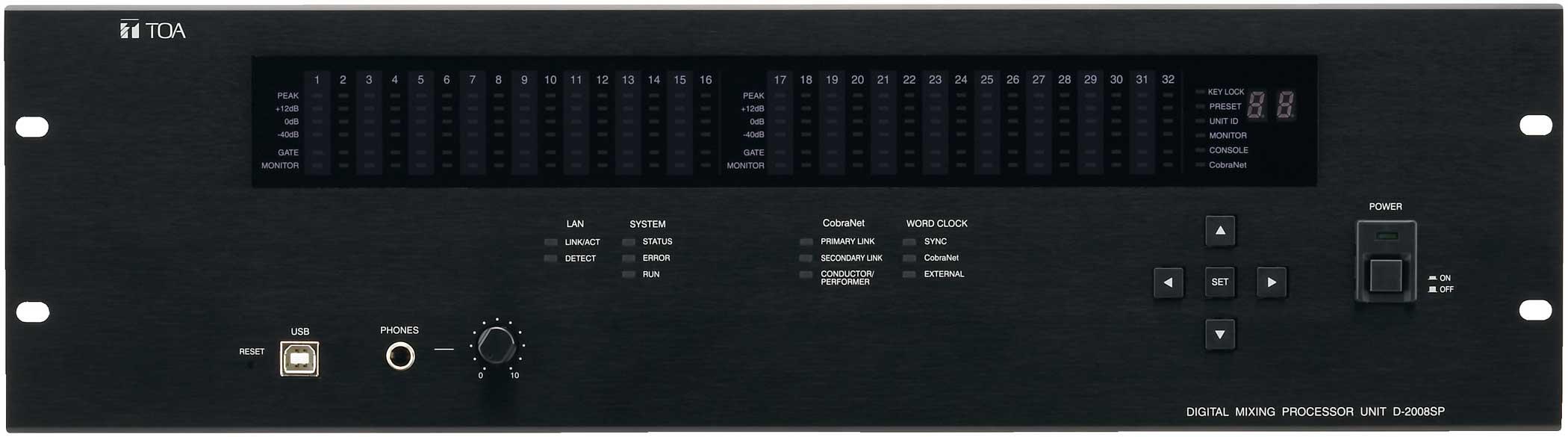 Digital Mixer, Modular, 32 Channel