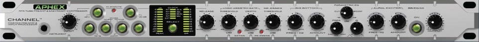 Aphex CHANNEL Master PreAmp & Input Processr CHANNEL
