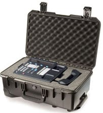 Storm Case Series Medium Carry On Hard Case with Telescoping Handle and Wheels