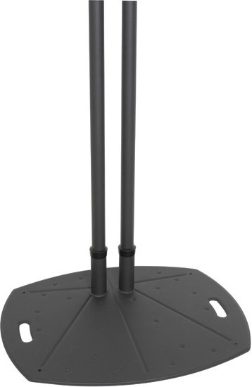 """Black Dual Pole Floor Stand with 60"""" Poles"""