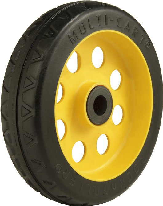"8"" x 2.5"" Offset No-Flat R-Trac Rear Wheel for R-6RT, R-14RT Multi-Carts"