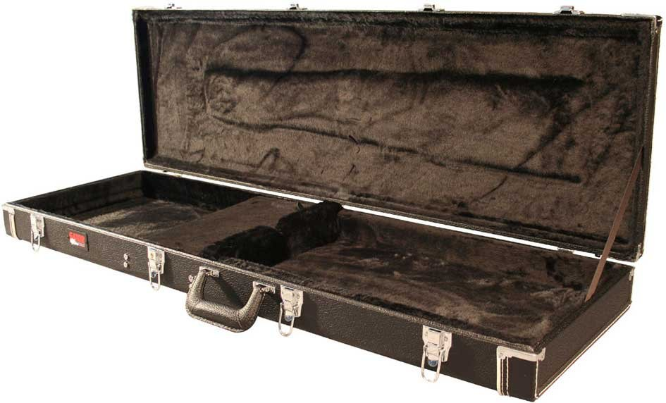 Deluxe Wooden Hardshell Electric Bass Case