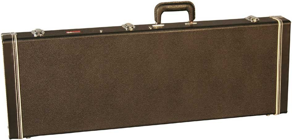 Deluxe Hardshell Wooden Electric Guitar Case