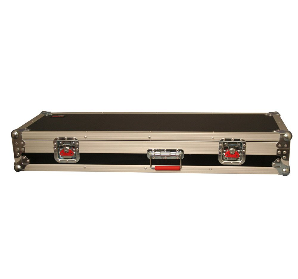Hardshell Wooden ATA Electric Guitar Flight Case for Double-Cutaway Guitars