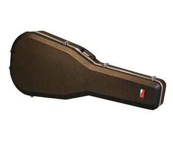 Deluxe Molded Jumbo Acoustic Guitar Case
