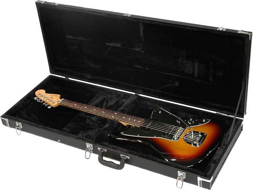 Deluxe Wooden Hardshell Electric Guitar Case for Jaguar®/Jagmaster®/Jazzmaster® Guitars
