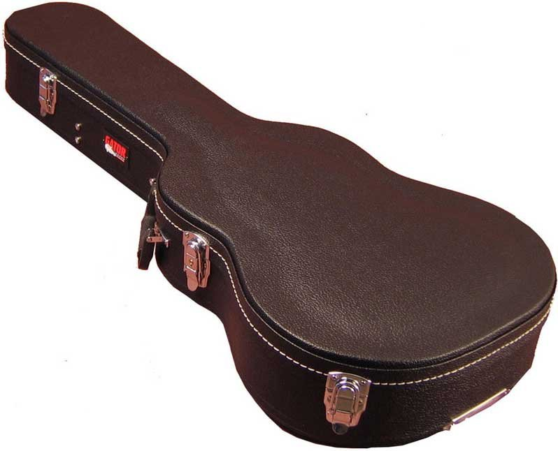 Hardshell Wooden 3/4 Acoustic Guitar Case