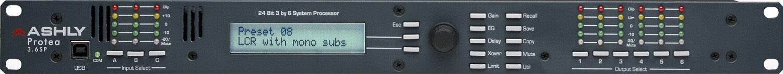 3-Input/6-Output Rackmount Speaker Processor