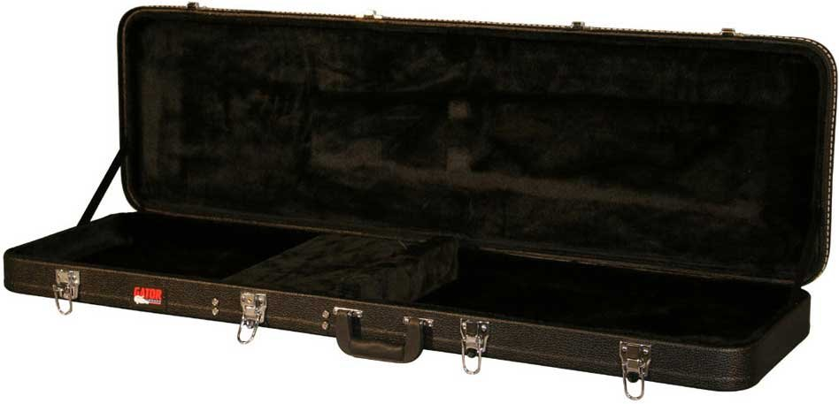 Hardshell Wooden Electric Bass Case