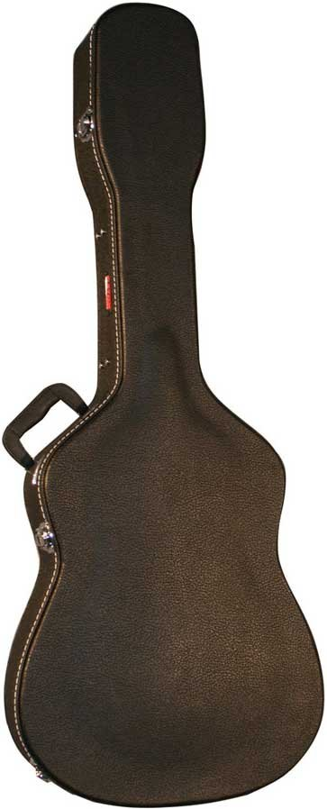 Hardshell Wooden 12-String Dreadnought Acoustic Guitar Case