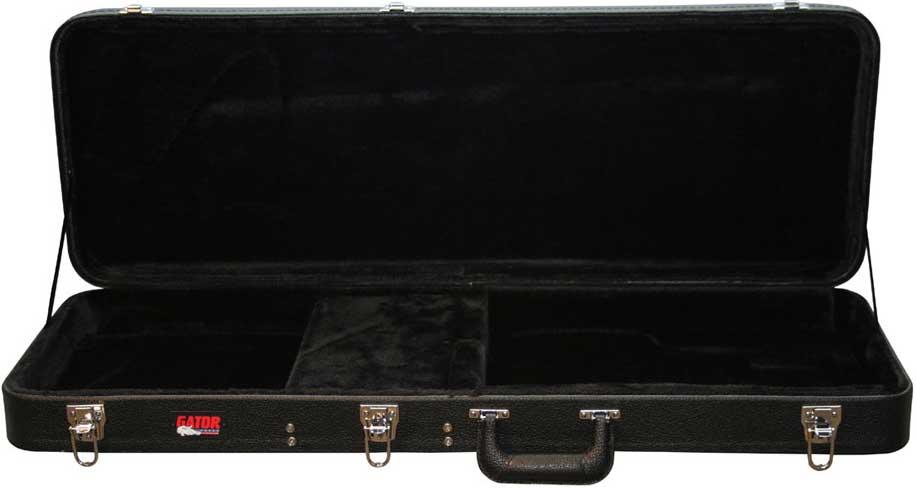 Hardshell Wooden Electric Guitar Case for Jaguar/Jag-Master/Jazzmaster Guitars