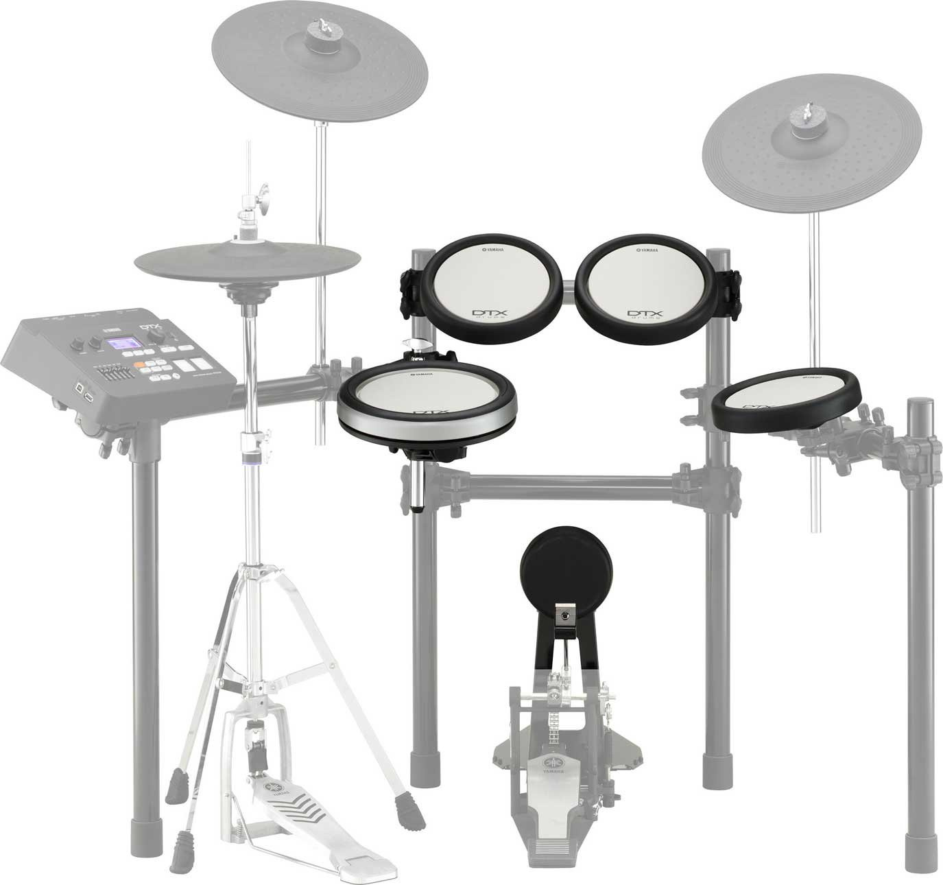 Drum Pad Set For DTX700K Electronic Drum Kit