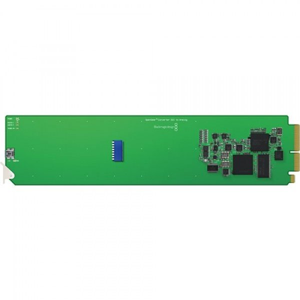 OpenGear Converter - SDI/HD-SDI to Analog YUV/S-Video/Comp with D/Conv and AES/Analog Audio