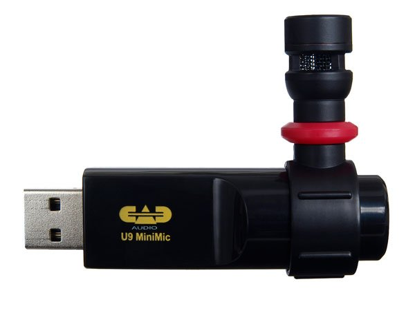 CAD Audio U9 Cardioid USB Mini Microphone U9