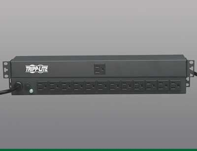Tripp Lite PDU1215 Power Strip, 15' Cord PDU1215